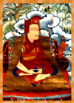 Gampopa, an important lineage lama in the Kagyu lineage, student of Milarepa