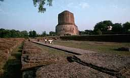 Main stupa at Sarnath